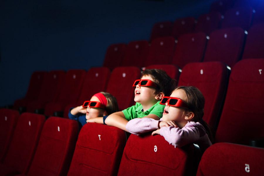 Il rapporto tra i bambini ed il cinema