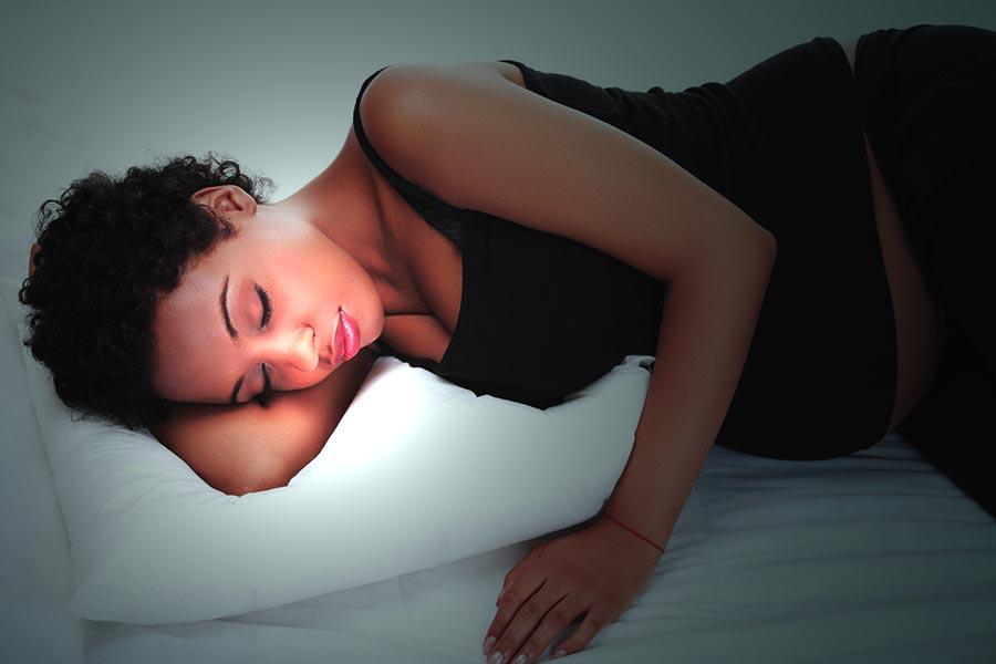 I consigli per dormire bene durante l'ultimo trimestre di gravidanza!