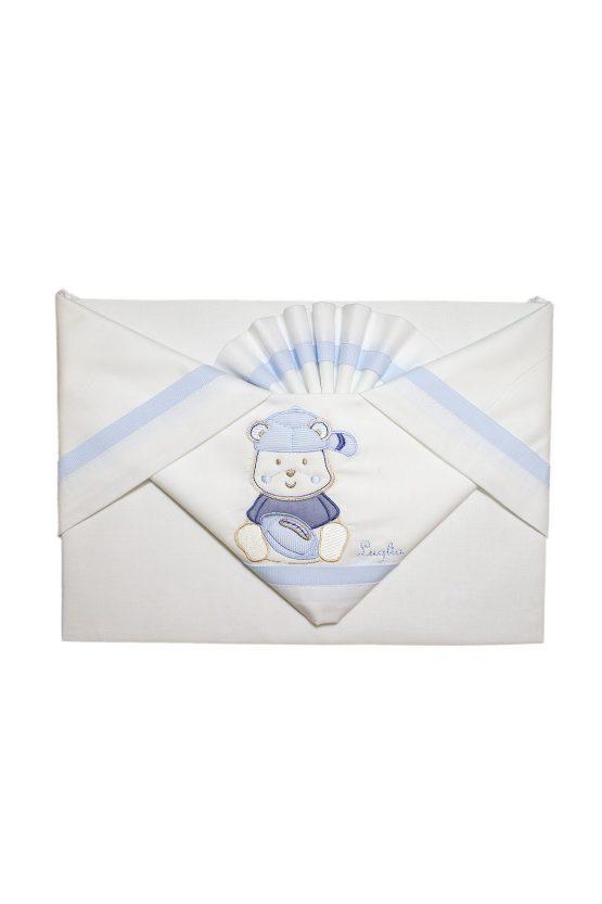 Lenzuola Luglio Per Culla Next To Me Chicco Bianco E Blu