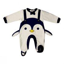 Tutina Ciniglia Bianca E Nera Luglio Con Pinguino – Lu702