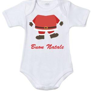 Body natalizio babbo natale