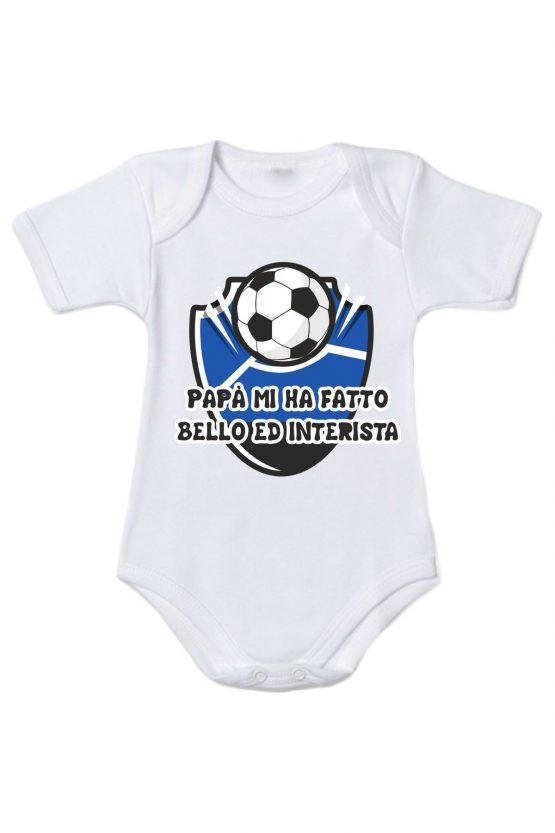 Body neonato tifoso Inter