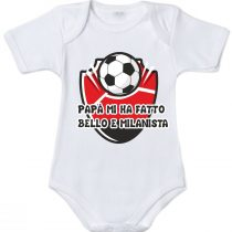 Body neonato tifoso Milan