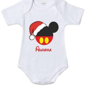Body natalizio femminuccia personalizzato