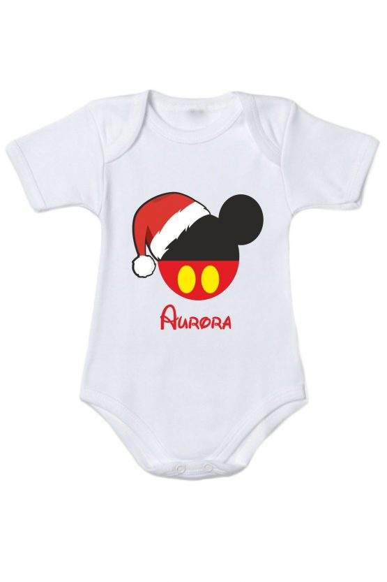 Body femminuccia natalizio personalizzabile