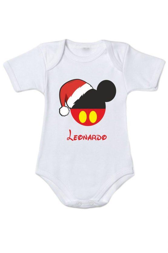 Body maschietto natalizio personalizzabile
