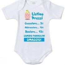 Body neonato listino coccole