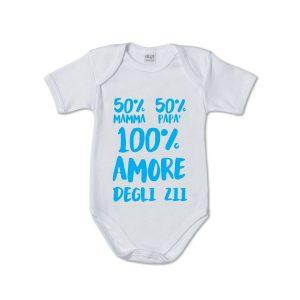 Body neonato dedica zii