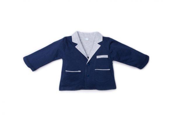 giacca maschietto luglio abbigliamento blu grigio