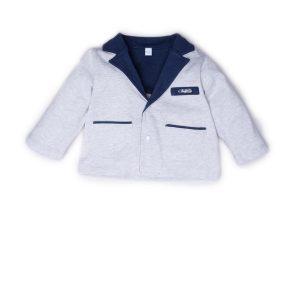 giacca luglio abbigliamento bicolore grigio blu