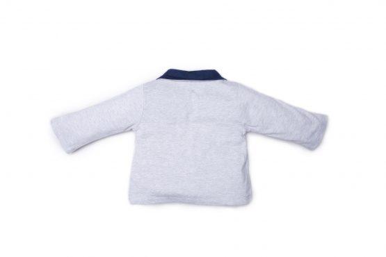 retro giacca luglio abbigliamento maschietto grigio blu