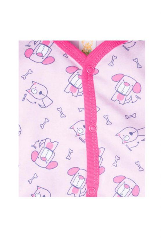 dettaglio tutina femminuccia luglio abbigliamento rosa fuxia