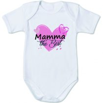 "Body con la scritta ""Mamma the Best"""