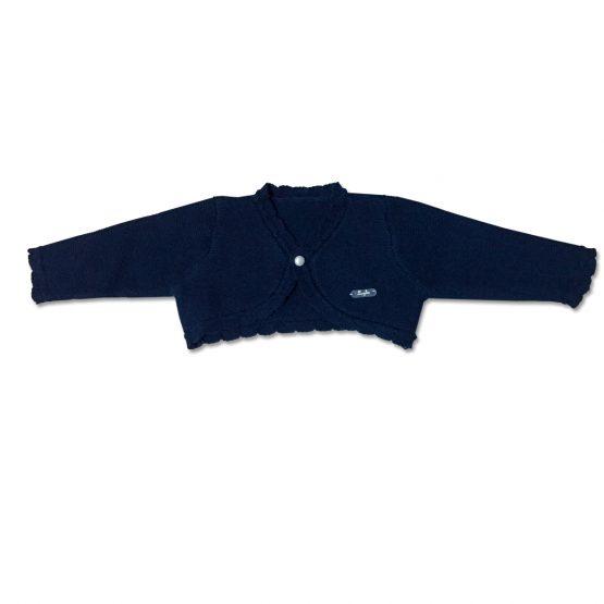 Cardigan Femminuccia Blu In Cotone Luglio Lu775