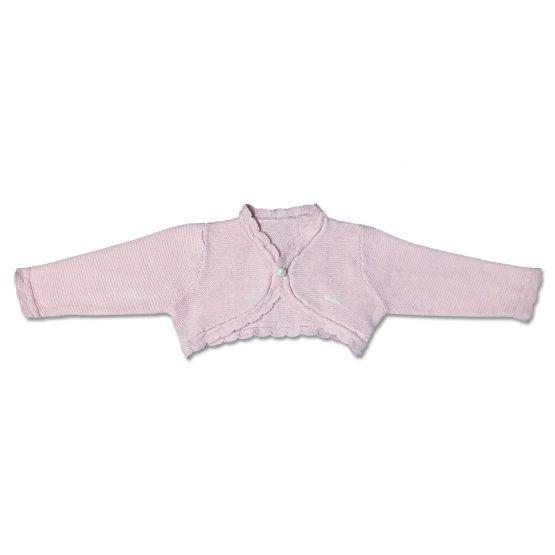 Cardigan Femminuccia Rosa In Cotone Luglio Lu775